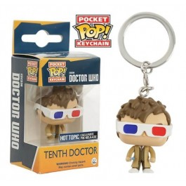 Funko Keychain Tenth Doctor 3D Glasses