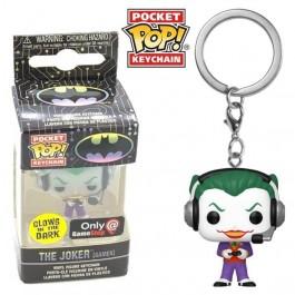Funko Keychain The Joker Gamer GITD