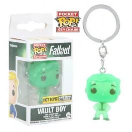 Funko Keychain Vault Boy GITD
