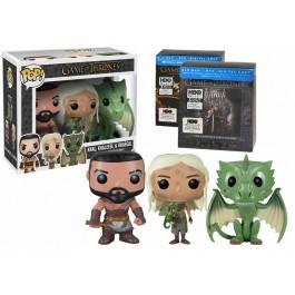 Funko Khal, Khaleesi & Rhaegal