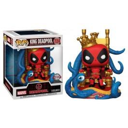Funko King Deadpool on Throne