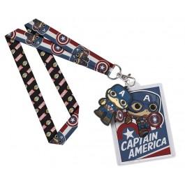 Funko Lanyard Captain America