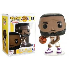 Funko Lebron James Lakers White Jersey