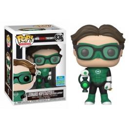 Funko Leonard Hofstadter as Green Lantern