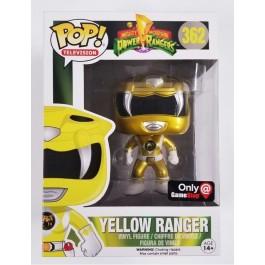 Funko Metallic Yellow Ranger
