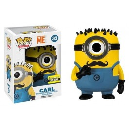 Funko Minion Carl with Mustache