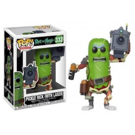 Funko Pickle Rick with Laser