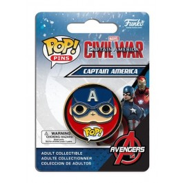 Funko Pin Captain America