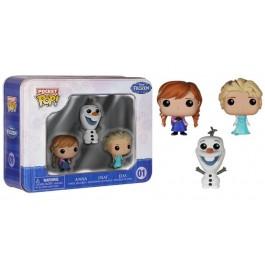 Funko Pocket Anna, Olaf & Elsa