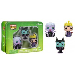 Funko Pocket Ursula, Maleficent & Evil