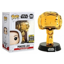 Funko Princess Leia Gold Chrome