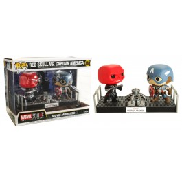 Funko Red Skull vs Captain America
