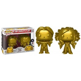 Funko Ric and Charlotte Flair Gold