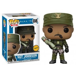 Funko Sgt Johnson Chase