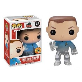 Funko Sheldon Cooper Star Trek Transporting