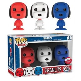 Funko Mini Snoopy Rock the Vote 3 Pack