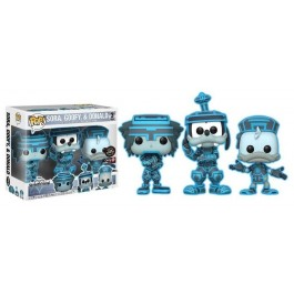 Funko Sora, Goofy & Donald Chase