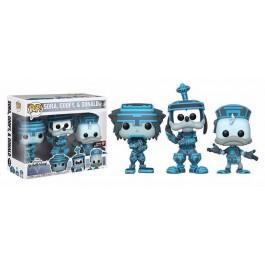 Funko Sora, Goofy & Donald