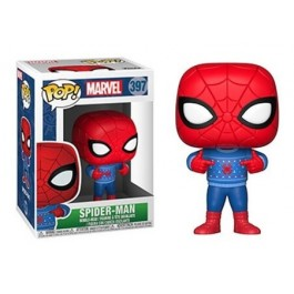 Funko Spider-Man with Ugly Sweater