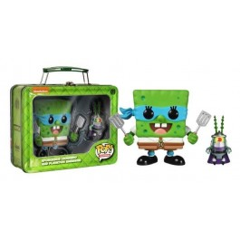 Funko Spongebob Leonardo and Plankton Shredder