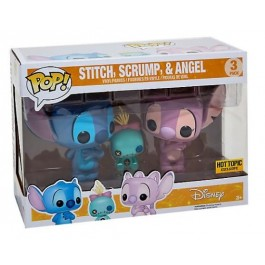 Funko Stitch, Scrump & Angel
