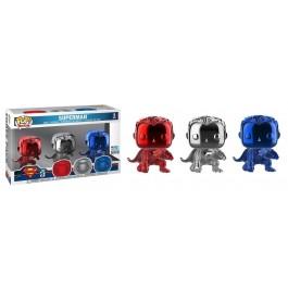 Funko Superman Chrome 3 Pack