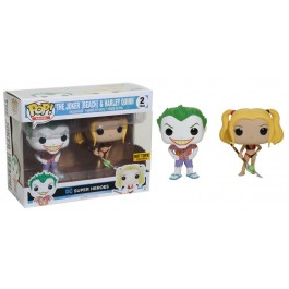 Funko The Joker Beach & Harley Quinn