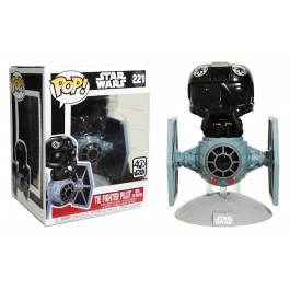 Funko Tie Fighter Pilot with Tie Fighter