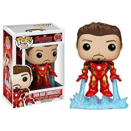 Funko Unmasked Iron Man Exclusive