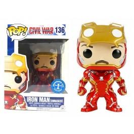 Funko CW Unmasked Iron Man