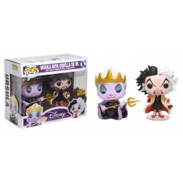 Funko Ursula & Cruella De Vil