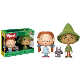 Funko Vynl Dorothy and Toto + Scarecrow