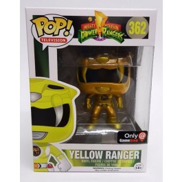 Funko Yellow Ranger Gold