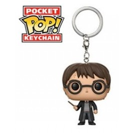 Funko Mystery Keychain Harry Potter with Wand