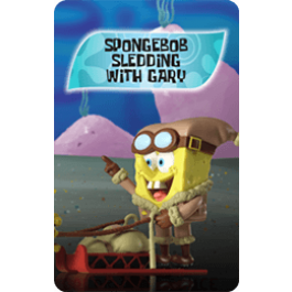 SBS Spongebob Sledding with Gary
