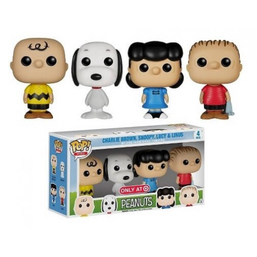 Funko Mania Funko Mini Peanuts Set Charlie Brown Snoopy