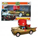 Funko Batmobile Gold