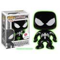 Funko Black Suit Spider-Man GITD