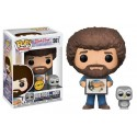 Funko Bob Ross and Hoot Chase
