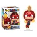 Funko Captain Marvel Flying GITD