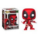 Funko Deadpool with Candy Canes