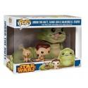 Funko Jabba, Leia & Salacious Crumb