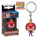 Funko Keychain Captain Marvel Masked
