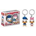Funko Keychain Donald & Daisy