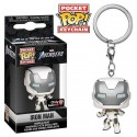 Funko Keychain Iron Man White Suit