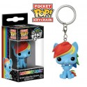 Funko Keychain Rainbow Dash