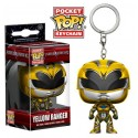 Funko Keychain Yellow Ranger