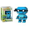 Funko Leonardo 8-Bit Neon Blue