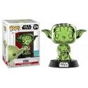 Funko Yoda Green Chrome
