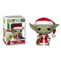 Funko Yoda with Christmas Clothes